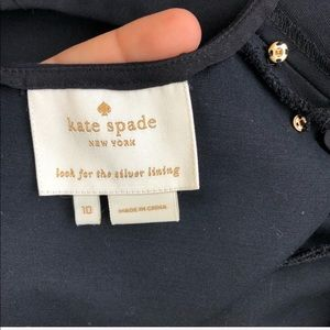 kate spade Dresses - Kate Spade Black Peplum Career Dress